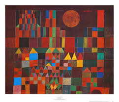 Paul klee castle and sun
