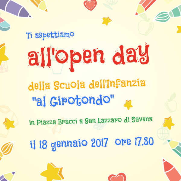 Open Day Al Girotondo!