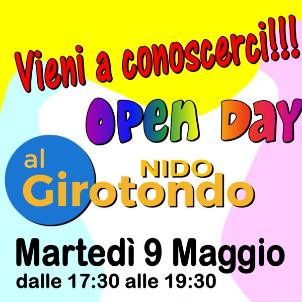 OPEN DAY Nido !