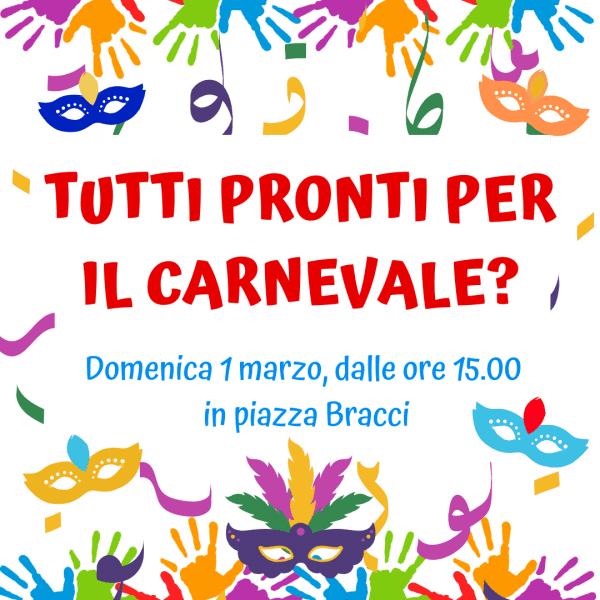 Tutti pronti per il Carnevale!